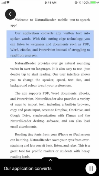 NaturalReader Text to Speech HD